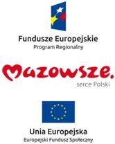 Znalezione obrazy dla zapytania logo fundusze europejskie program regionalny i mazowsze i fundusz społeczny