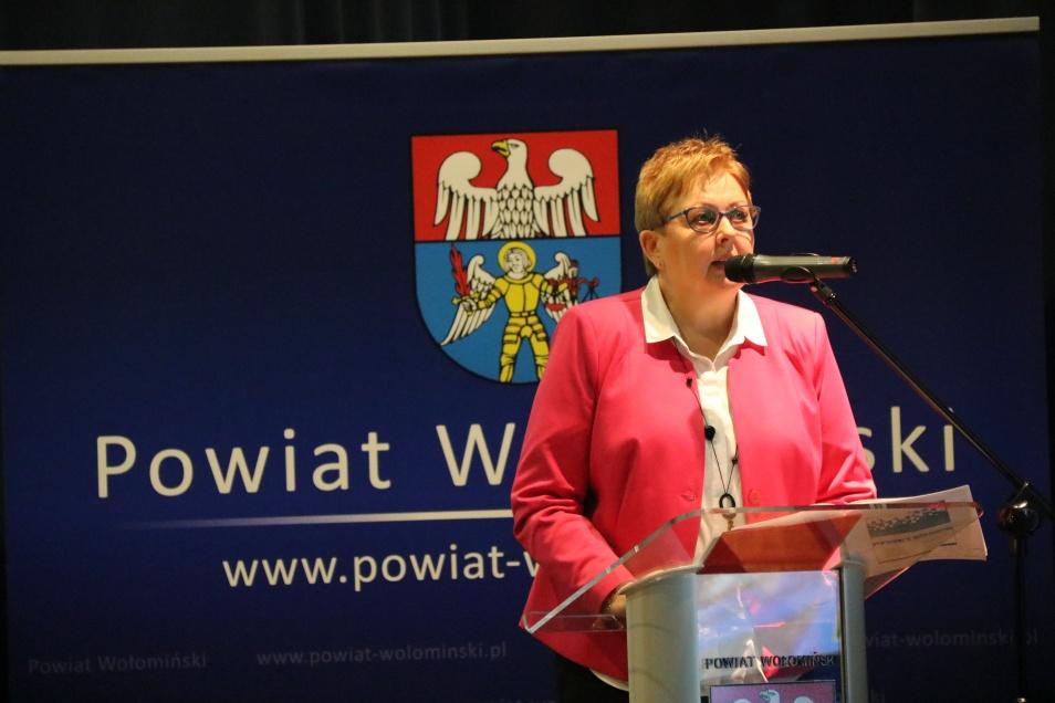 Uczestnicy II Kongresu Forum Gospodarczego Powiatu Wołomińskiego.