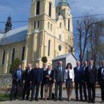 """Uroczyste podpisanie umowy o dofinansowanie projektu z działania 5.3 Dziedzictwo kulturowe"""" Korytnica – nowe centrum kultury sakralnej Mazowsza Wschodniego"""
