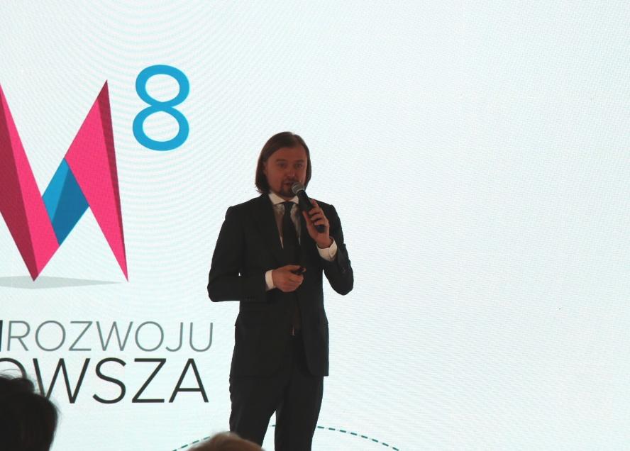 Przemawia Mariusz Frankowski Dyrektor Mazowieckiej Jednostki Wdrażania Programów Unijnych