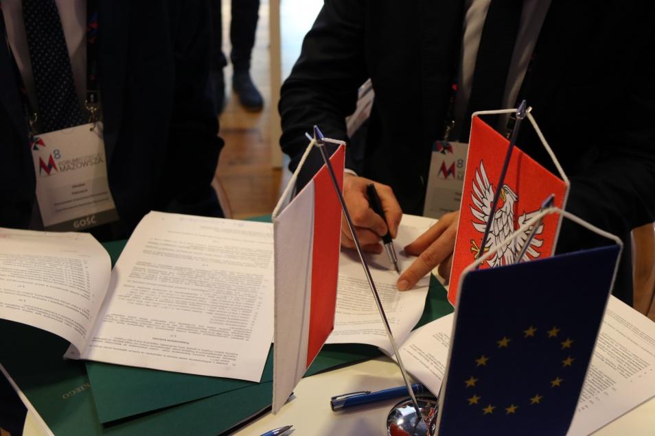 Uroczyste podpisanie umów o dofinansowanie projektów z zakresu edukacji przedszkolnej