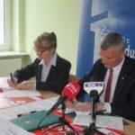 Podpisanie umów o dofinansowanie unijne trzech projektów z dz. 5.2 Gospodarka odpadami