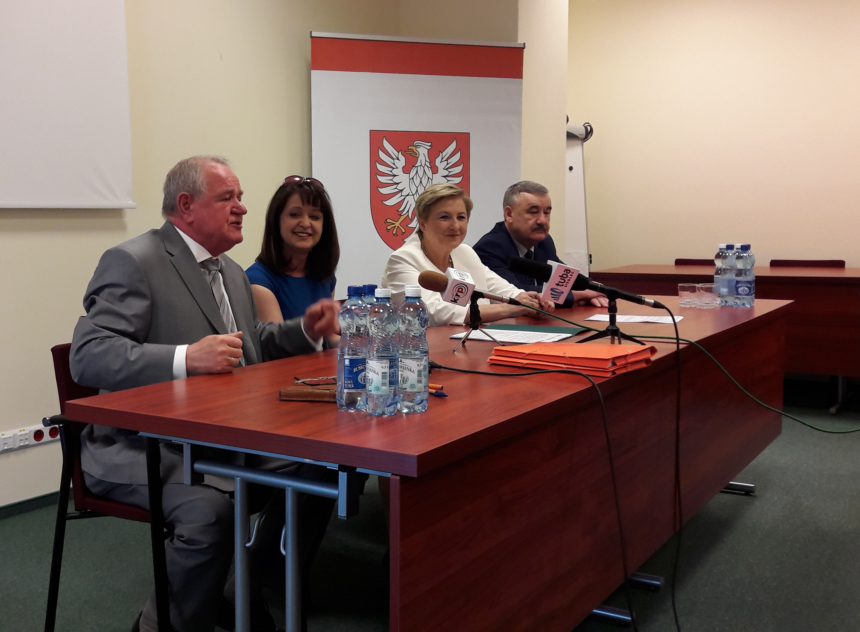 Uroczyste podpisanie umowy o dofinansowanie projektu z dz. 7.1 Infrastruktura drogowa