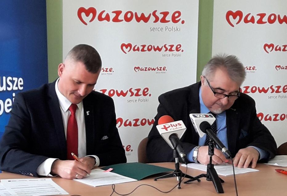 Uroczyste podpisanie umowy o dofinansowanie projektu - Wykorzystanie TIK do obsługi procesów związanych z edukacją na Uniwersytecie Technologiczno-Humanistycznym im. Kazimierza Pułaskiego w Radomiu celem świadczenia e-usług podnoszących dostępność, jakość