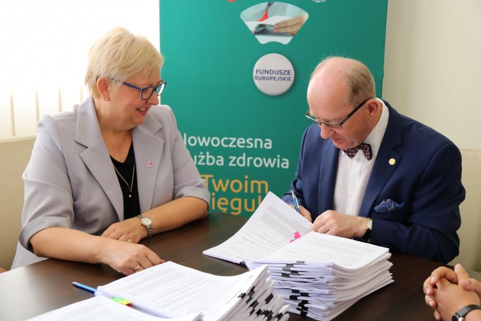 Podpisanie umów o unijne dofinansowanie z RPO WM 2014-2020