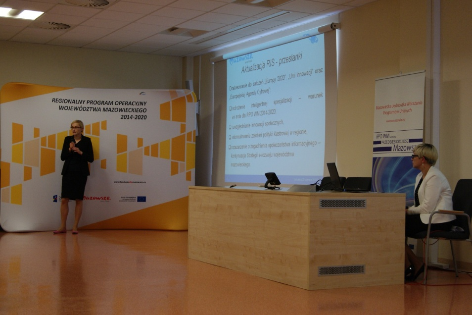 Konferencja regionalna otwierająca nową perspektywę finansową w ramach RPO WM 2014-2020 w subregionie ostrołęckim