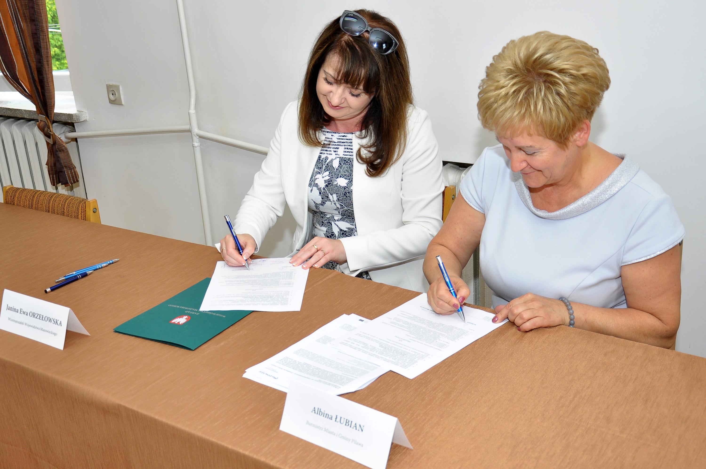 Podpisanie umowy o dofinansowanie z RPO WM 2014-2020