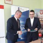 Uroczyste podpisanie umowy o dofinansowanie projektu z dz. 5.3 Dziedzictwo kulturowe