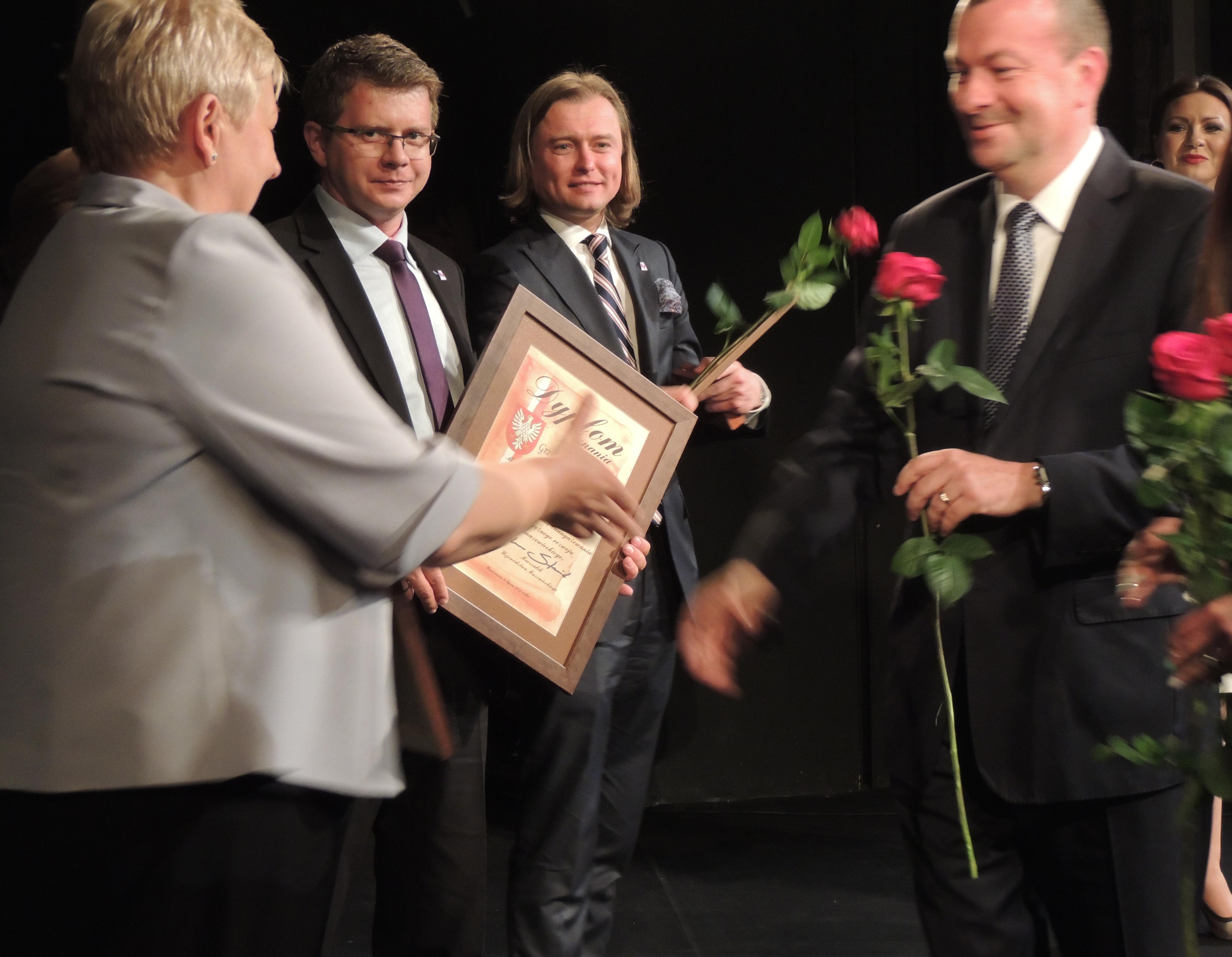 """Wręczenie medalu """"Pro Masovia"""""""