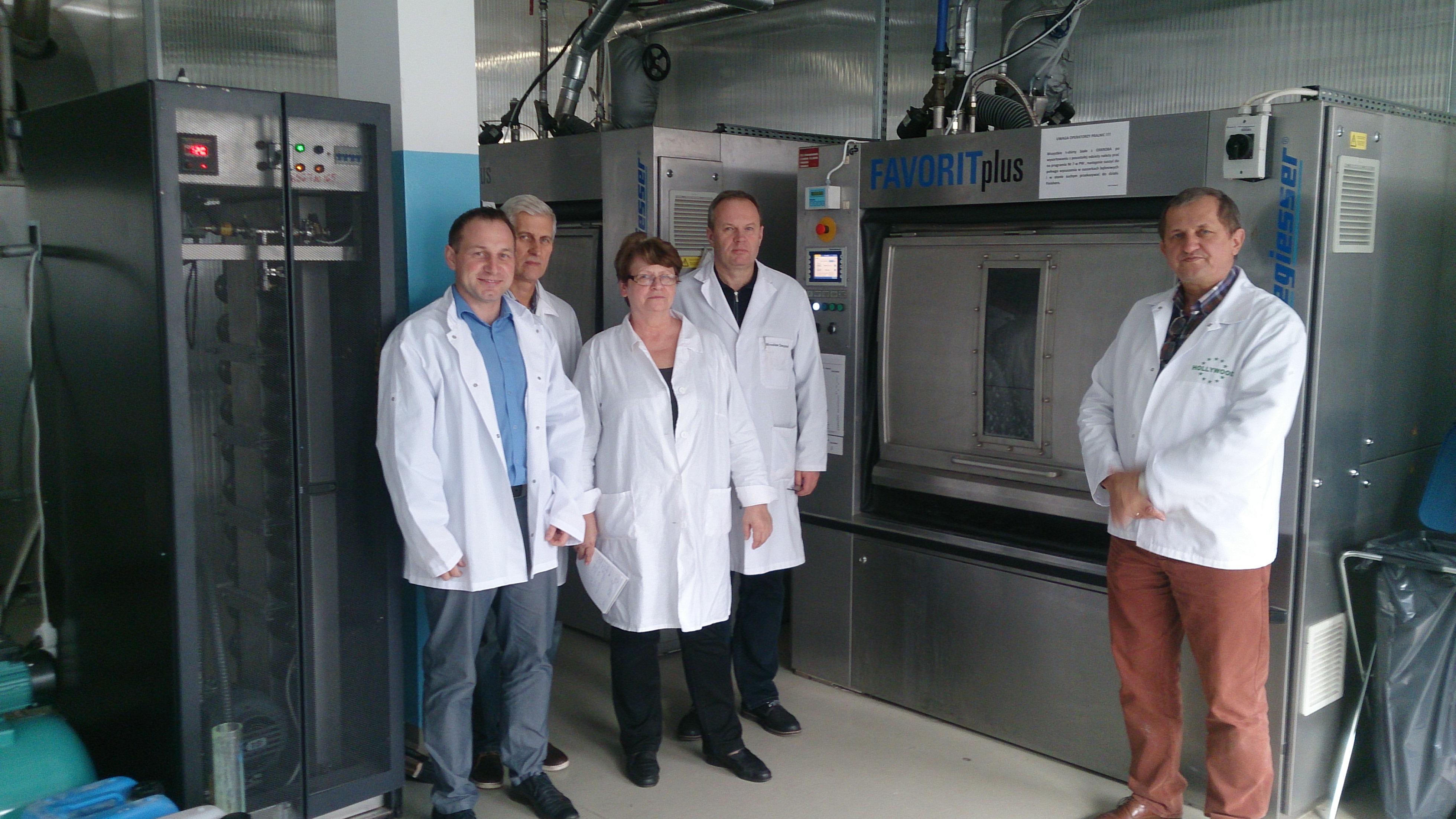 Zobacz - Nowy proekologiczny proces prania przemysłowego z zastosowaniem nanotechnologii