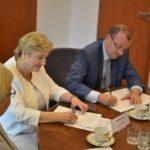 Uroczystość podpisania umowy o dofinansowanie z RPO WM 2014-2020