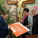 Uroczystość podpisania umowy o dofinansowanie termomodernizacji budynków diecezjalnych