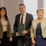 Uroczyste podpisanie umowy o dofinansowanie unijne projektu z dz. 5.3 Dziedzictwo kulturowe