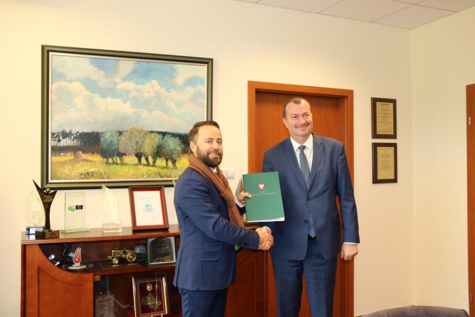 Podpisanie realizacji projektu w ramach Działania 2.1 E-usługi, Poddziałania 2.1.2 E -usługi dla Mazowsza w ramach ZIT.