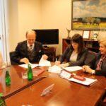 Uroczyste podpisanie umów o dofinansowanie unijne trzech projektów z dz. 5.3 Dziedzictwo kulturowe i dz. 6.2 Rewitalizacja obszarów zmarginalizowanych.