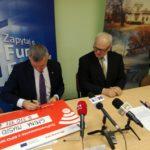 Podpisanie umowy o unijne dofinansowanie z Regionalnego Programu Operacyjnego Województwa Mazowieckiego 2014-2020