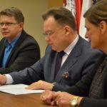 Uroczyste podpisanie umów o dofinansowanie z działania 4.3 Redukcja emisji zanieczyszczeń powietrza