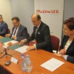 Uroczyste podpisanie umowy o dofinansowanie