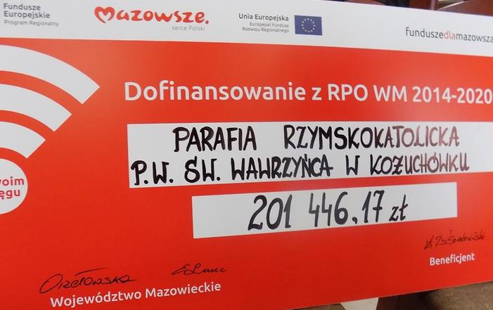 Podpisanie umów o unijne dofinansowanie z Regionalnego Programu Operacyjnego Województwa Mazowieckiego 2014-2020