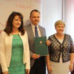 Uroczyste podpisanie umowy o unijne dofinansowanie z dz. 7.1 Infrastruktura drogowa w Gminie Wyszków