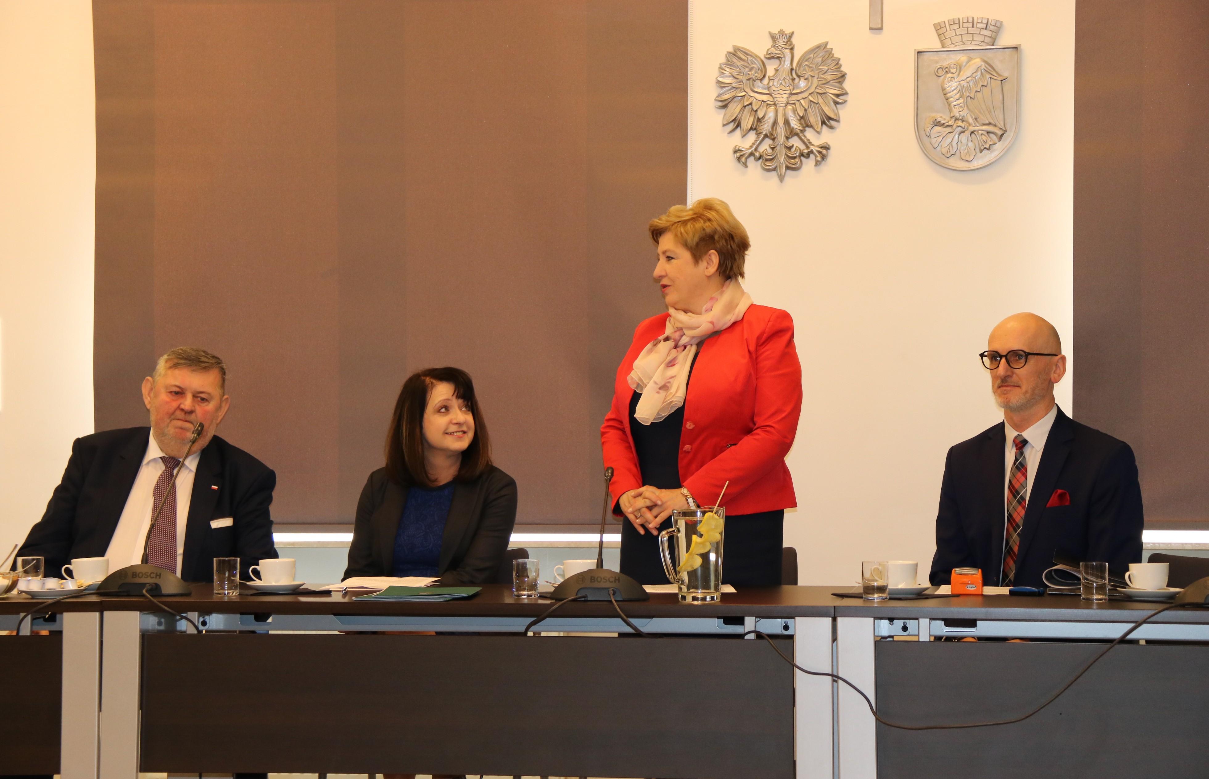Uroczyste podpisanie umów o dofinansowanie unijne projektów z dz. 6.2 Rewitalizacja obszarów zmarginalizowanych i dz. 5.3 Dziedzictwo kulturowe
