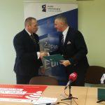 Uroczyste podpisanie umów o dofinansowanie unijne dwóch projektów z dz. 4.2 Efektywność energetyczna i dz. 5.1 Dostosowanie do zmian klimatu