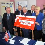 Uroczystość podpisania umowy o unijne dofinansowanie z RPO WM 2014-2020.