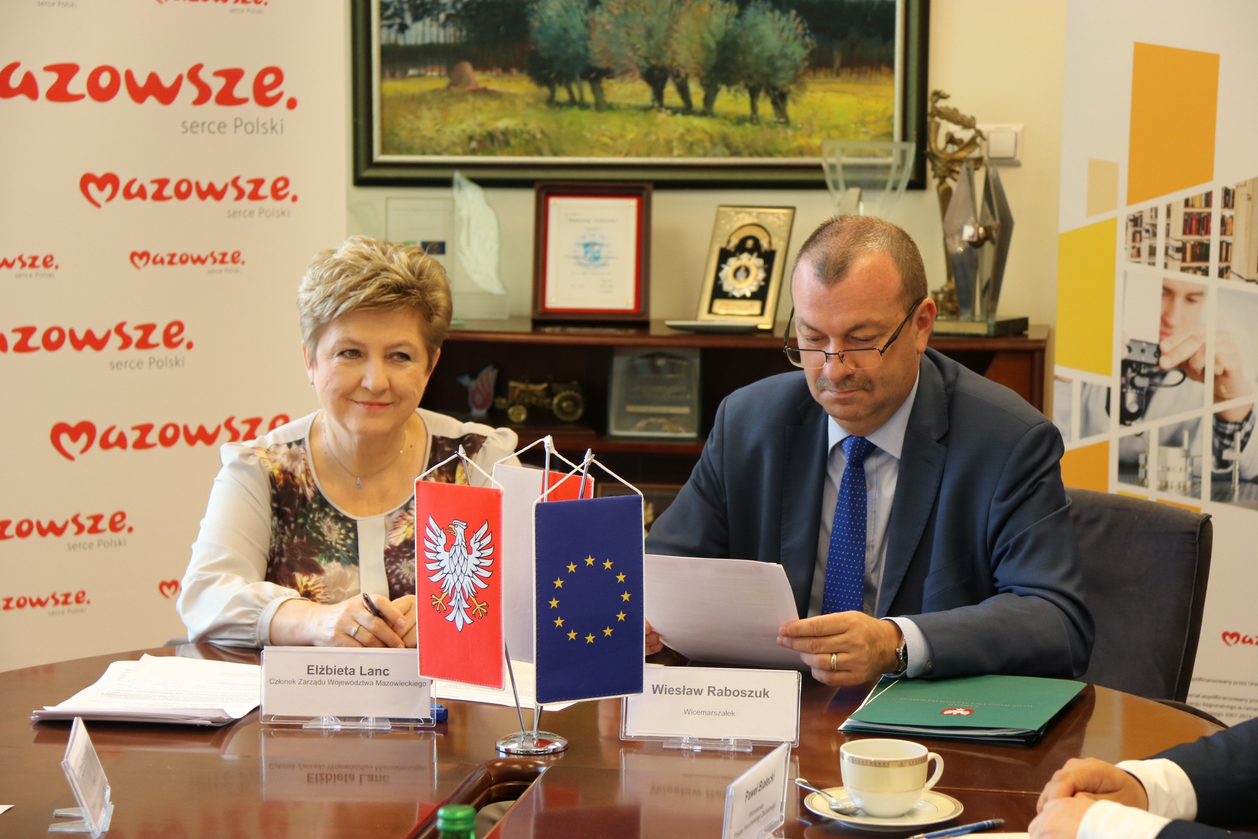 Uroczyste podpisanie umów o dofinansowanie unijne czterech projektów z dz. 4.2 Efektywność energetyczna