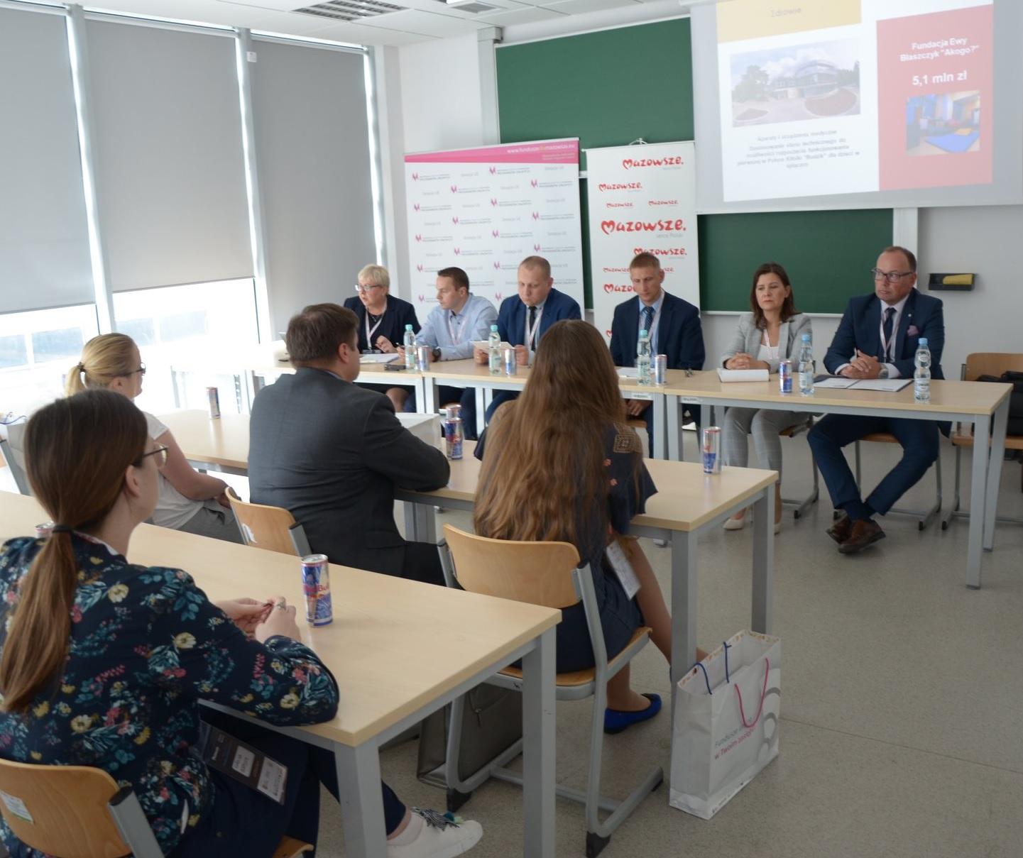 O funduszach unijnych ze studentami Politechniki Warszawskiej