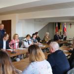 Spotkanie z przedstawicielami Urzędu Miasta w Węgrowie