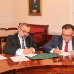 Uroczyste podpisanie umowy o dofinansowanie unijne projektu z dz. 1.1 Działalność badawczo – rozwojowa jednostek naukowych