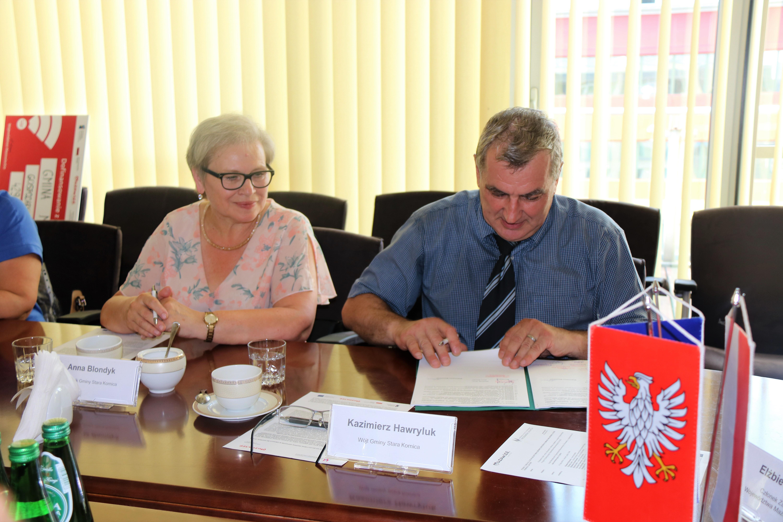 Uroczyste podpisanie umów o dofinansowanie unijne projektów z dz. 5.2 Gospodarka odpadami