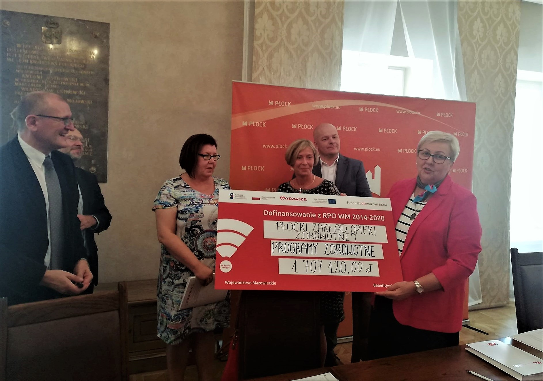 Uroczyste podpisanie umowy o dofinansowanie unijne projektu z dz. 9.2 Usługi społeczne i usługi opieki zdrowotnej