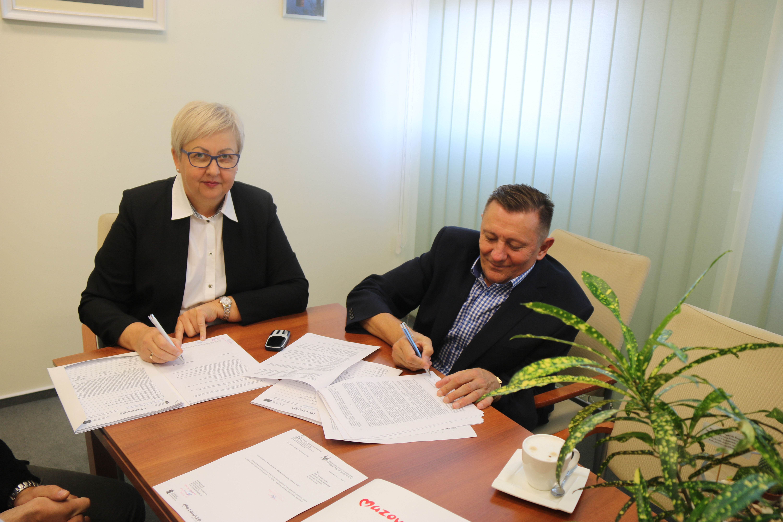Uroczystość podpisania umowy o dofinansowanie