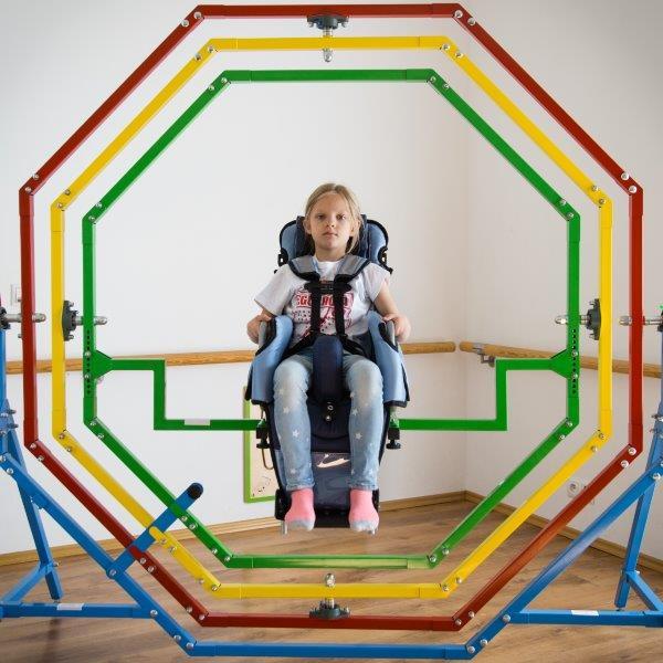 Zobacz - Mobilny żyroskop jako innowacyjne rozwiązanie dla skutecznej rehabilitacji dzieci z upośledzeniem psychoruchowym