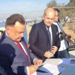 Uroczyste podpisanie umów o dofinansowanie unijne projektów z dz. 6.2 Rewitalizacja obszarów zmarginalizowanych i z dz. 6.1 Infrastruktura ochrony zdrowia