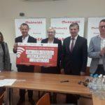 Uroczyste podpisanie umów o dofinansowanie unijne projektów z dz. 10.1 Kształcenie i rozwój dzieci i młodzieży