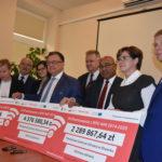 Uroczyste podpisanie trzech umów o dofinansowanie unijne projektów z dz. 6.1 Infrastruktura ochrony zdrowia