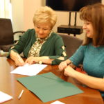 Uroczyste podpisanie dwóch umów o dofinansowanie unijne projektów z dz. 4.1 Odnawialne źródła energii i dz. 4.3 Redukcja emisji zanieczyszczeń powietrza