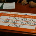 Podpisanie umowy. Fot.Katarzyna Szymaniak UM WM