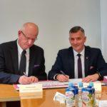 Uroczystość podpisania umów; autor zdjęć: Michał Gąbka