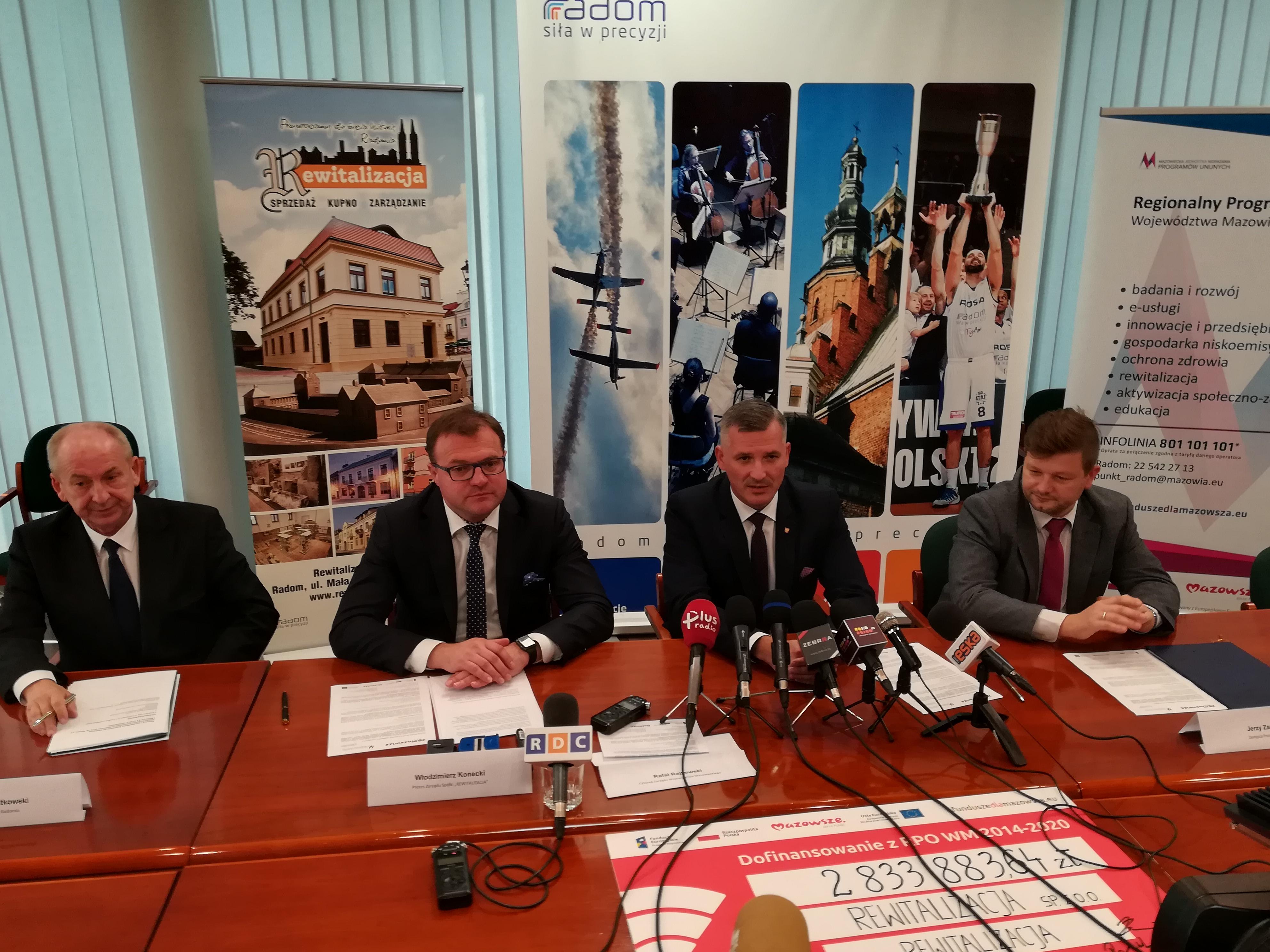 Uroczystość podpisania umowy; autor zdjęć: Michał Gąbka