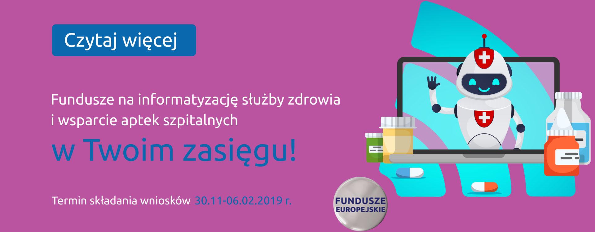 8,5 mln na informatyzację aptek szpitalnych na Mazowszu