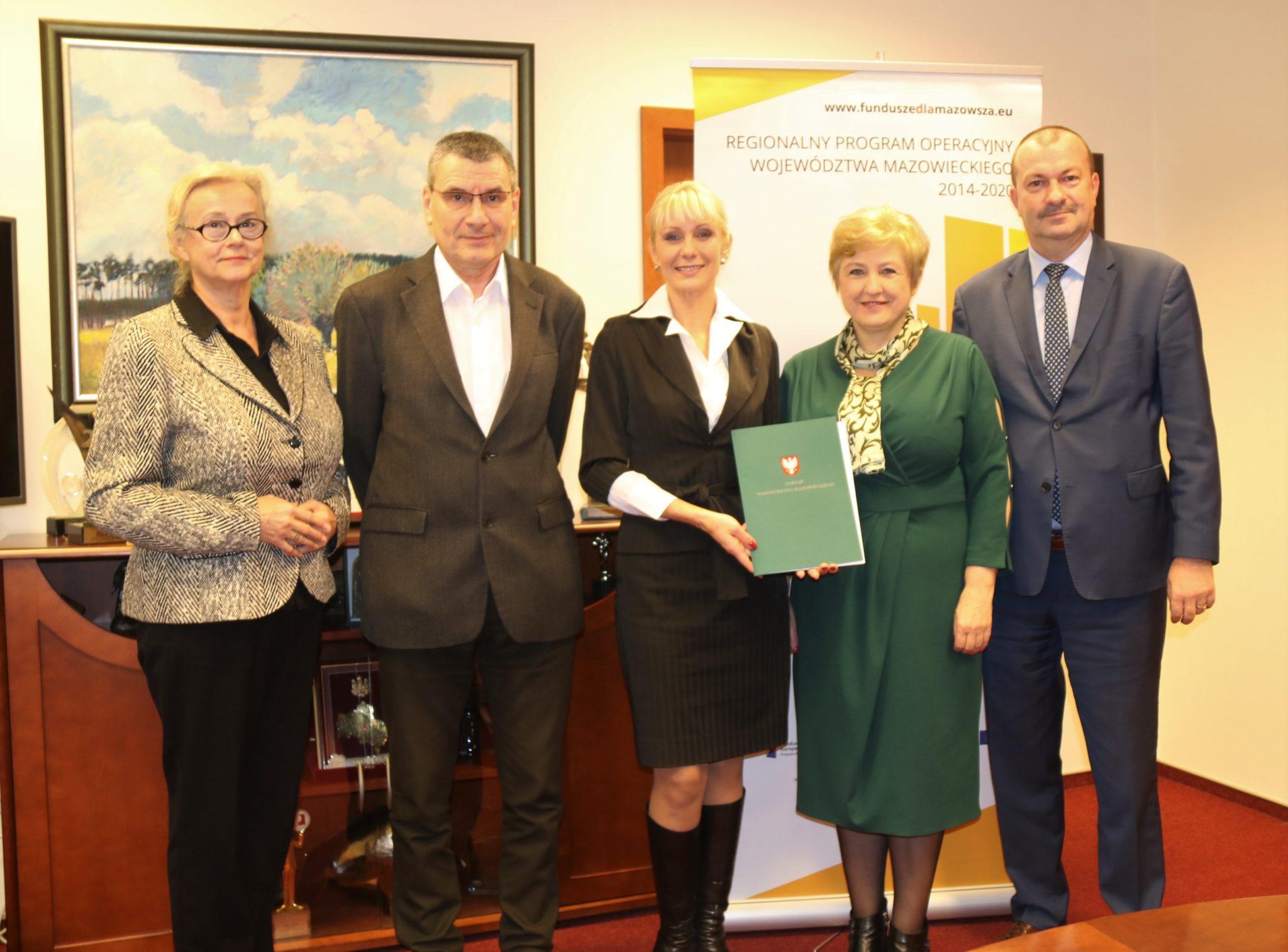 Uroczyste podpisanie umowy o dofinansowanie unijne projektu z dz. 2.1 E-usługi
