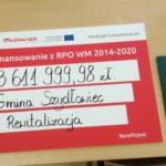 Uroczyste podpisanie umowy o dofinansowanie unijne projektu z dz. 6.2 Rewitalizacja obszarów zmarginalizowanych