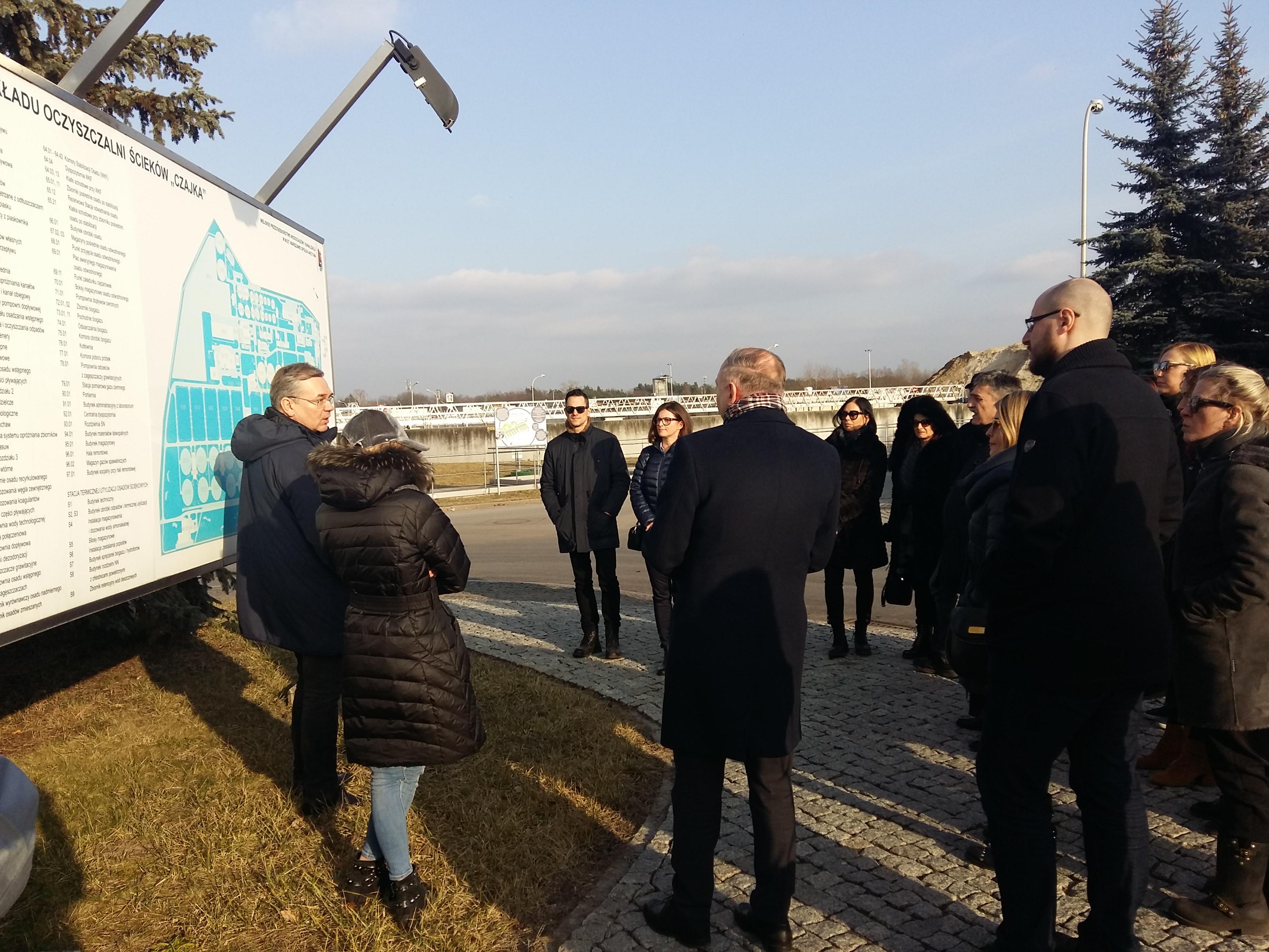 Wizyta studyjna przedstawicieli Funduszu Ochrony Środowiska i Efektywności Energetycznej z Chorwacji