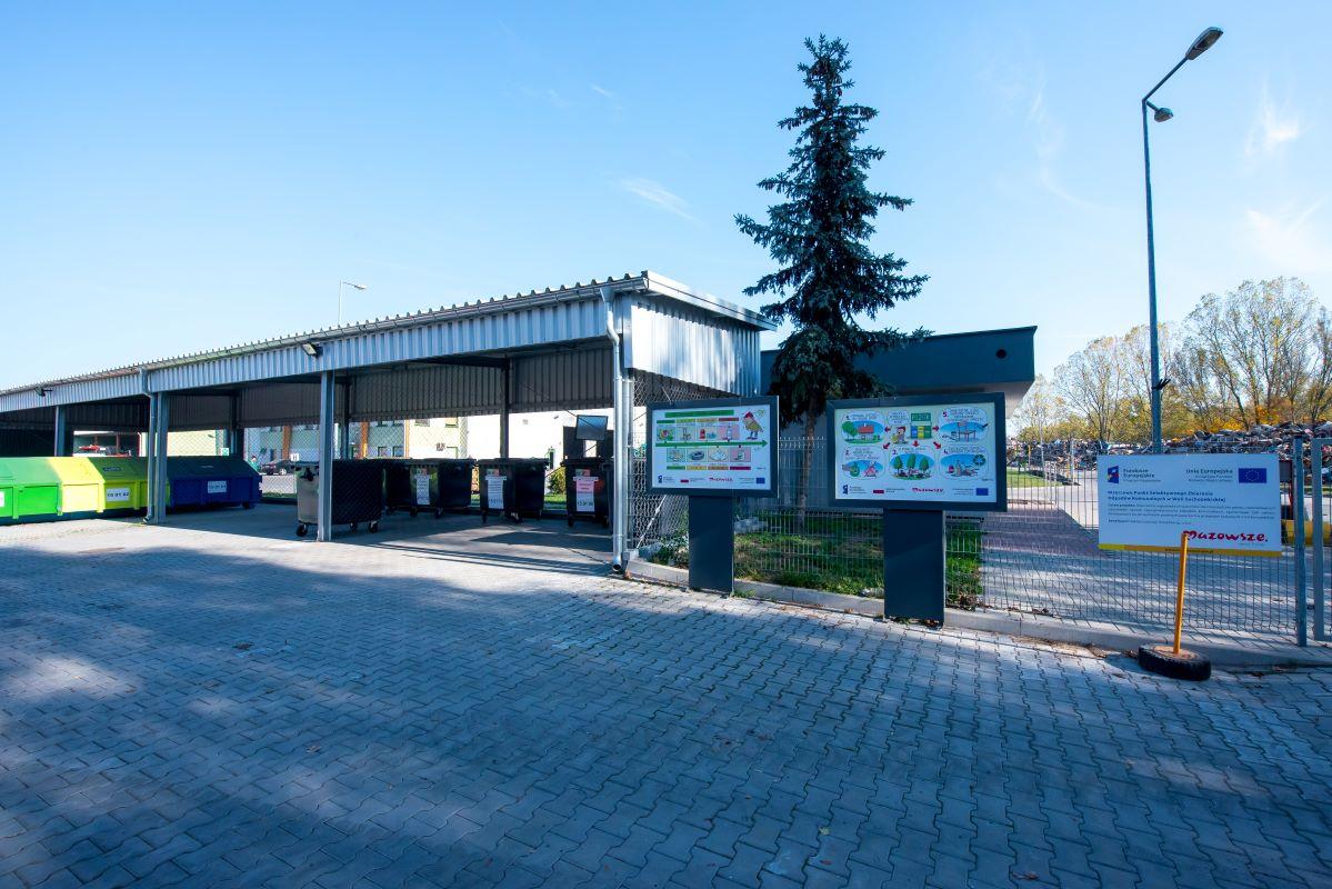 Wzorcowy Punkt Selektywnego Zbierania Odpadów Komunalnych (PSZOK)