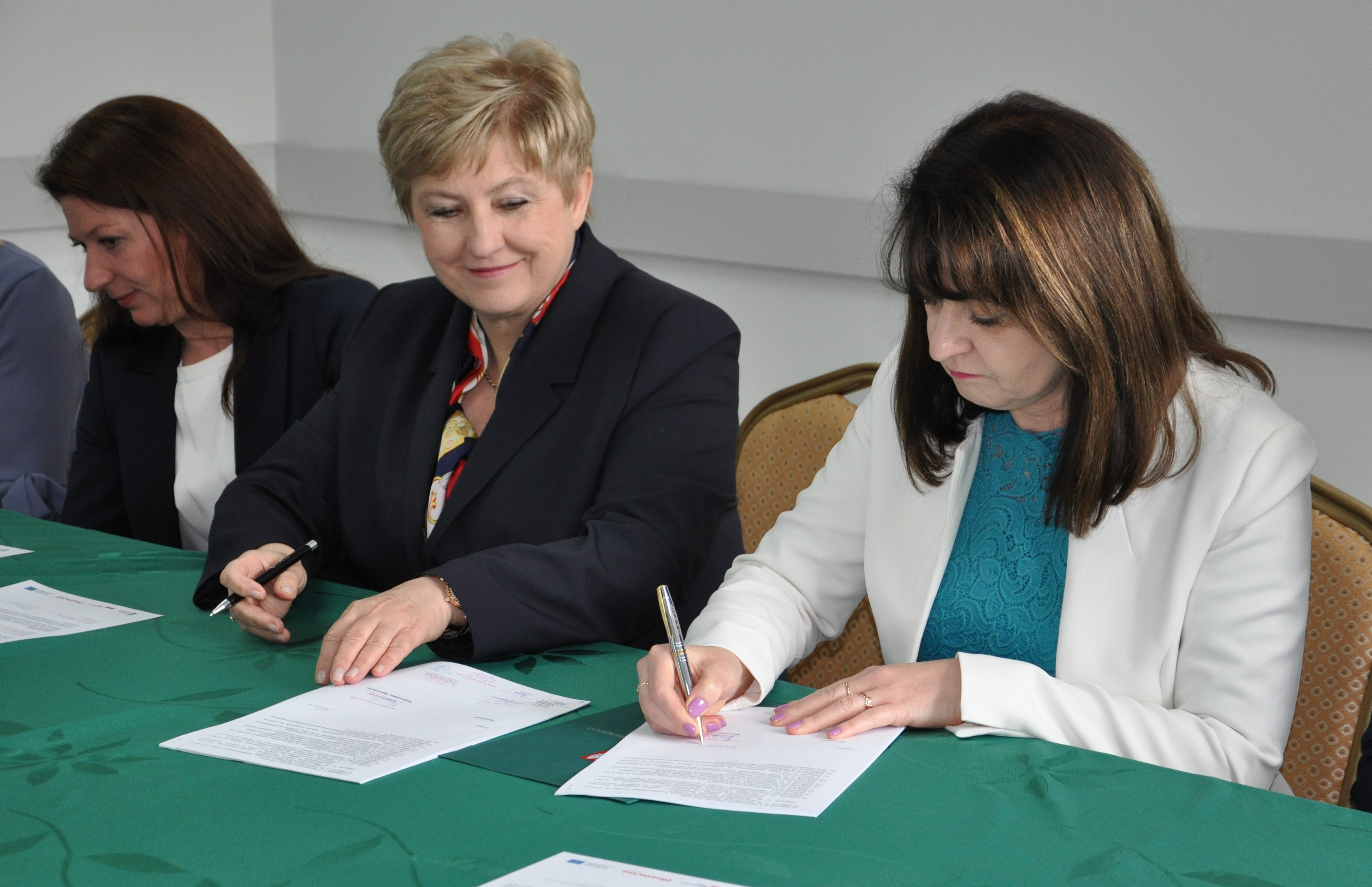 Uroczyste podpisanie umowy o dofinansowanie unijne projektu z dz. 4.1 Odnawialne źródła energii