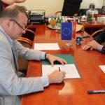 Podpisanie umowy na dofinansowanie