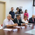 Uroczyste podpisanie umów o dofinansowanie unijne czterech projektów z dz. 4.3 Redukcja emisji zanieczyszczeń powietrza